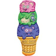 Fat Cat Kitty Kickz Mice Cream Cone Cat Toy