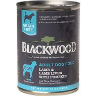 Blackwood Lamb, Lamb Liver & Pumpkin Grain-Free Adult Canned Dog Food, 13-oz, case of 12