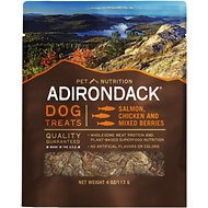 Adirondack Salmon, Chicken & Mixed Berries Dog Treats, 4-oz bag