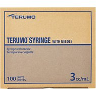 Terumo 3cc Luerlock Syringes with 20 Gauge Needles, 1 inch
