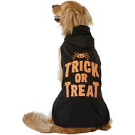 Pup Crew Trick or Treat LED Dog Hoodie, XX-Large