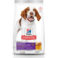 Hill's Science Diet Adult Sensitive Stomach & Skin Grain-Free Chicken & Potato Recipe Dry Dog Food, 24-lb bag