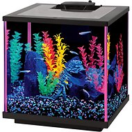 Aqueon LED NeoGlow Aquarium Starter Kit, Pink, 7.5-gal