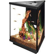 Aqueon LED Tri-Scape Aquarium Starter Kit, 3-gal