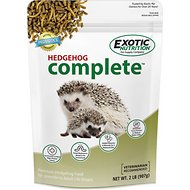 Exotic Nutrition Hedgehog Complete Hedgehog Food, 2-lb bag