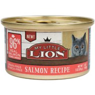 My Little Lion 96% Salmon Recipe Grain-Free Canned Cat Food, 3-oz, case of 24