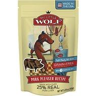 My Little Wolf Pork Pleaser Recipe Grain-Free Dog Treats, 5.29-oz bag