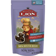 My Little Lion Duck Hunter Recipe Grain-Free Cat Treats, 2.65-oz bag