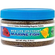 New Life Spectrum Naturox Marine 1mm Sinking Pellet Fish Food, 2.8-oz jar