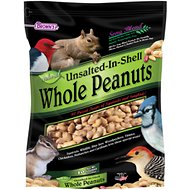 Brown's Song Blend Unsalted-In-Shell Whole Peanuts Wild Bird Food, 10-lb bag