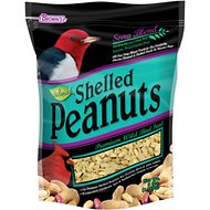 Brown's Song Blend Shelled Peanuts Wild Bird Food, 3-lb bag