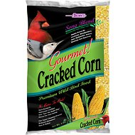 Brown's Song Blend Gourmet! Cracked Corn Wild Bird Food, 4-lb bag
