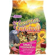 Brown's Tropical Carnival Gourmet Small Hookbill Bird Food, 10-lb bag
