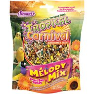 Brown's Tropical Carnival Melody Mix Small Bird Treat, 5-oz bag