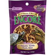 Brown's Encore Daily Diet Floating Aquatic Turtle Food, 5-oz bag