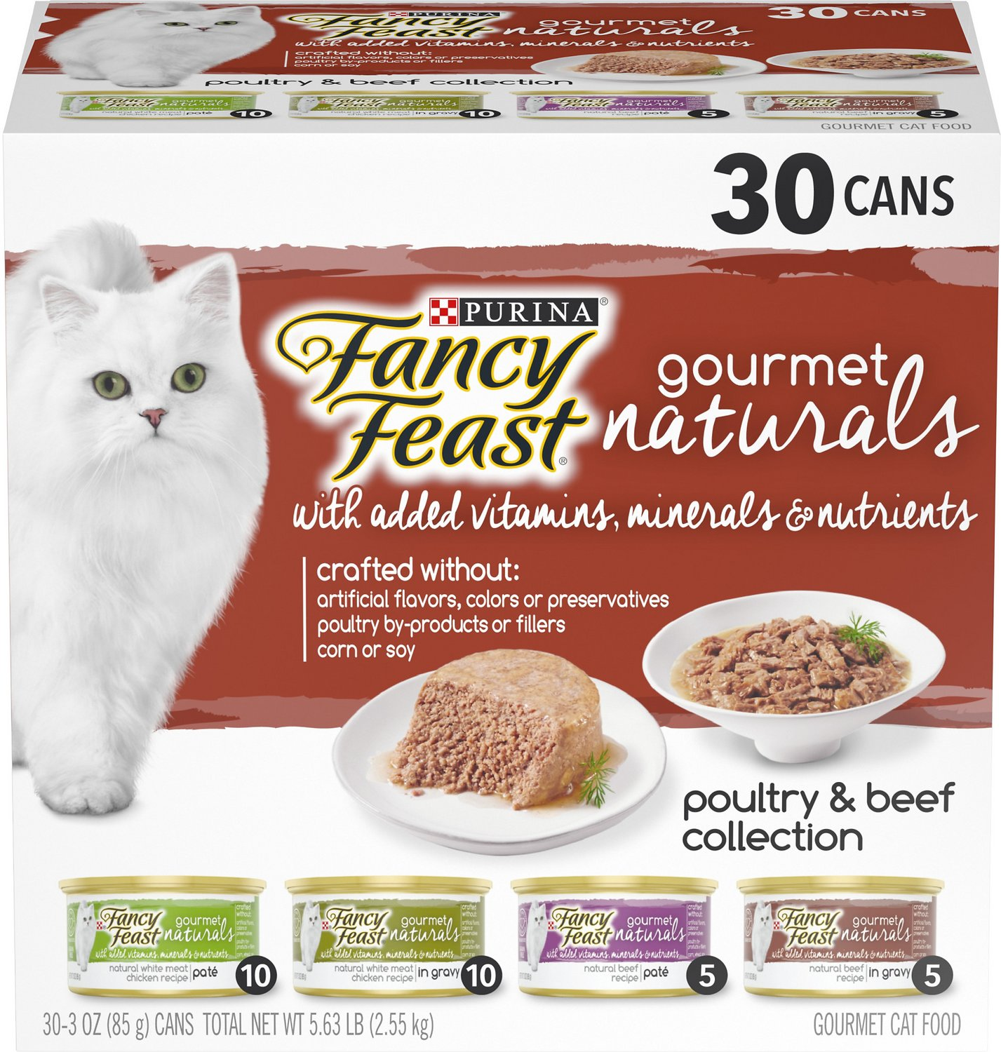 Dishes, Feeders & Fountains New Fancy Feast White Label Chicken Heart And Liver Cat Supplies 85gm