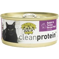 Dr. Elsey's cleanprotein Rabbit & Turkey Recipe Grain-Free Canned Cat Food, 5.5-oz, case of 24
