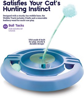 Petstages Wobble Track Cat Toy Chewy Com