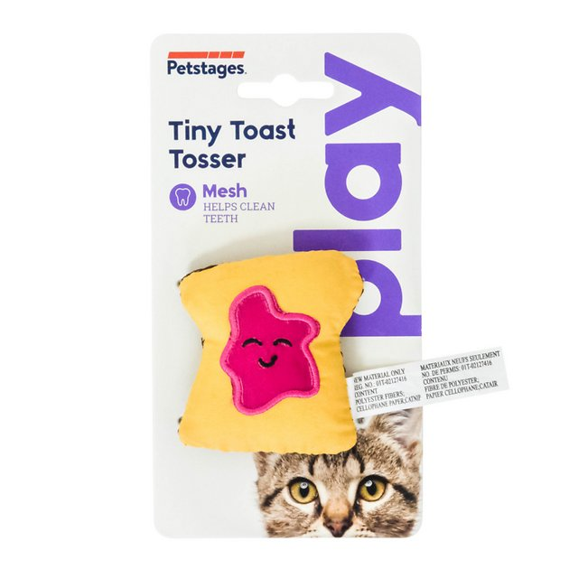 petstages-tiny-toast-tosser-cat-toy by petstages