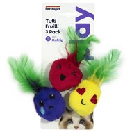 Petstages Tutti Frutti Cat Toy, 3 count