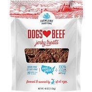 Farmland Traditions USA Dogs Love Beef Jerky Dog Treats, 2.5-lb bag