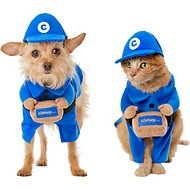 Frisco Chewy Box Delivery Driver Dog & Cat Walking Costume, X-Small