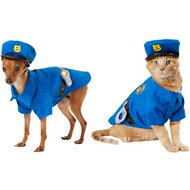 Frisco Police Dog & Cat Costume, X-Small