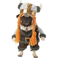 Frisco Walking Viking Dog & Cat Costume, Medium