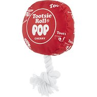 OurPets Tootsie Pop Plush Dog Toy