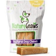 Nature Gnaws Large Himalayan Yak Cheese Dog Chew Treats, 3 count