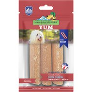 Himalayan Dog Chew yakyYUM Bacon Flavor Dog Treats, 3 count