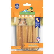 Himalayan Dog Chew yakyCHURRO Peanut Butter Flavor Dog Treats, 4 count