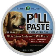 Earth's Balance Pill Paste Bacon Flavor Dog Paste, 2.1 oz canister