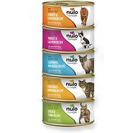Nulo Freestyle Grain-Free Multi-Protein Variety Pack Canned Cat & Kitten Food, 5.5 oz, case of 5