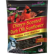 Brown's Cherry-Scented Dark Oil Sunflower Seeds Premium Wild Bird Food, 3.5-lb bag