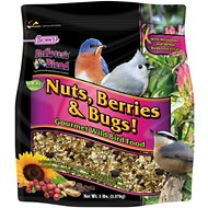 Brown's Bird Lover's Blend Nuts, Berries & Bugs! Gourmet Wild Bird Food, 5-lb bag