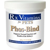 Rx Vitamins Phos-Bind Dog & Cat Supplement, 200-g