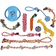 Pacific Pups Rescue Assorted Rope Dog Toys, 11 count