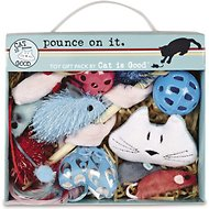 Cat is Good Pounce On It Gift Pack Cat Toys, 12 pack