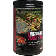 Microbe-Lift Legacy Variety Mix Floating Pellets & Sticks Koi & Goldfish Food, 11-oz jar