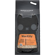 Rufus & Coco Wee Kitty Clumping Cat Litter, 20-lb bag