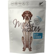 Meat Mates Beef Dinner Grain-Free Freeze-Dried Dog Food, 4.5-oz bag