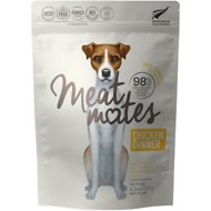 Meat Mates Chicken Dinner Grain-Free Freeze-Dried Dog Food, 4.5-oz bag