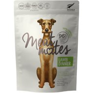 Meat Mates Lamb Dinner Grain-Free Freeze-Dried Dog Food, 4.5-oz bag