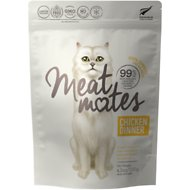 Meat Mates Chicken Dinner Grain-Free Freeze-Dried Cat Food, 4.5-oz bag