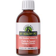 Holistic Blend Wild Alaskan Salmon Oil Dog & Cat Supplement, 8.4-oz bottle