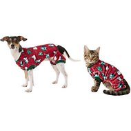 Frisco Holiday Friends Dog & Cat Cozy Fleece PJs, Small