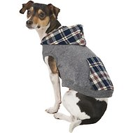 Frisco Plaid Dog & Cat Hoodie, Small, Multi-Color Plaid