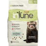 Higgins inTune Grain-Free Complete & Balanced Diet Ferret Food, 4-lb bag