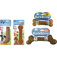 Pet Qwerks Nylon Chew Value Pack Dog Toy, X-Large Breeds, 4 count